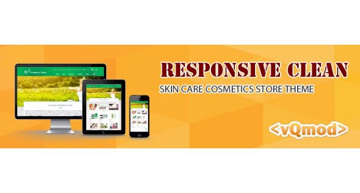 Skin Care Cosmetics store Theme