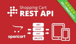 Opencart REST API v2 - Shopping cart API