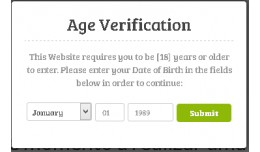 Age Check Website