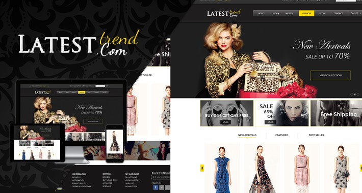 Tmd Latest fashion opencart theme
