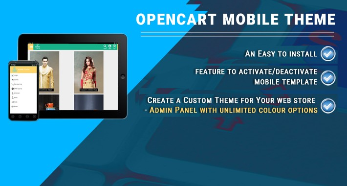 Opencart Mobile Theme