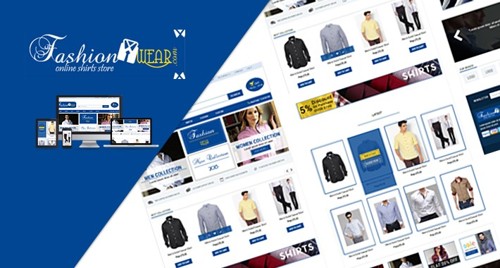 opencart shirt theme