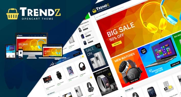 Trendz Fashion MultiStore &  Responsive Theme