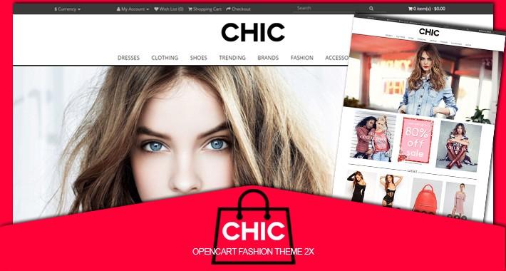 Chic fashion responsive opencart 2.X theme