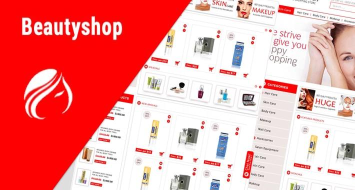 Beauty shop & Multipurpose Theme