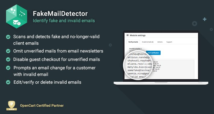 FakeMailDetector - Identify fake and invalid emails