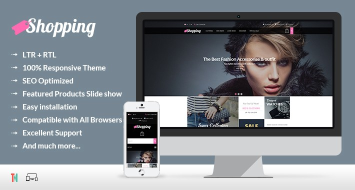 Shopping Opencart Theme - OPCADD002