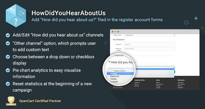 How Did You Hear About Us - lightweight customer origin data