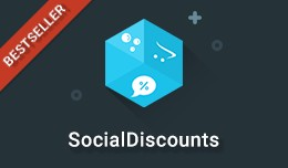 SocialDiscounts - Like/Share/Tweet to get a disc..