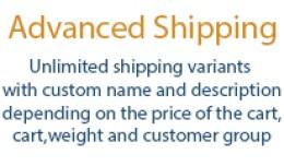 Advanced shipping