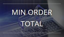 Min Order Total - OC 2.x-3.x