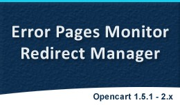 Error Pages Monitor | Redirect Manager | 404 Pag..
