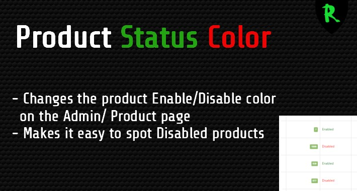 Product Status Color