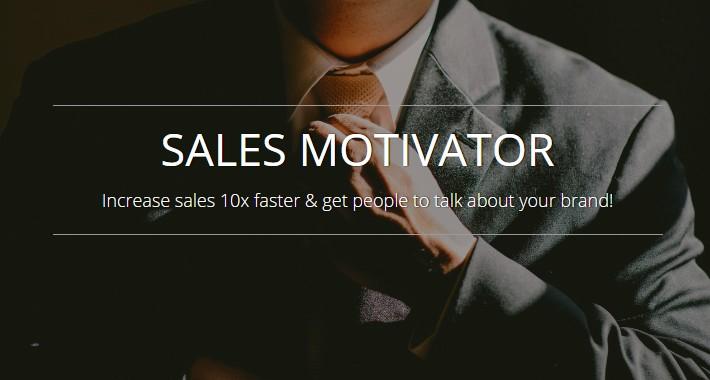 Sales Motivator - smart marketing tool OC 1.5.x