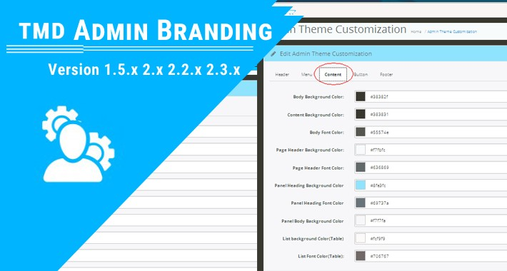 Admin Branding Module