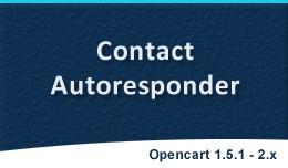 Contact Autoresponder | Contact Form History