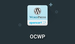 OCWP - Integrate WordPress in OpenCart