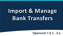 Import Bank Transfers | Manage Bank Transfers