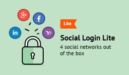 Social Login Lite (Facebook, Google Plus, Linked..