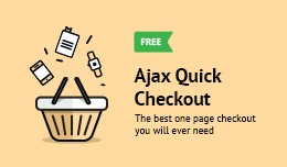 AJAX Quick Checkout Lite (One Page Checkout, Qui..