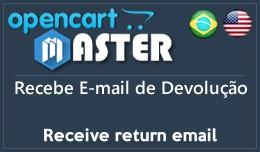 E-mail de devolução