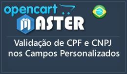 Validação de CPF CNPJ
