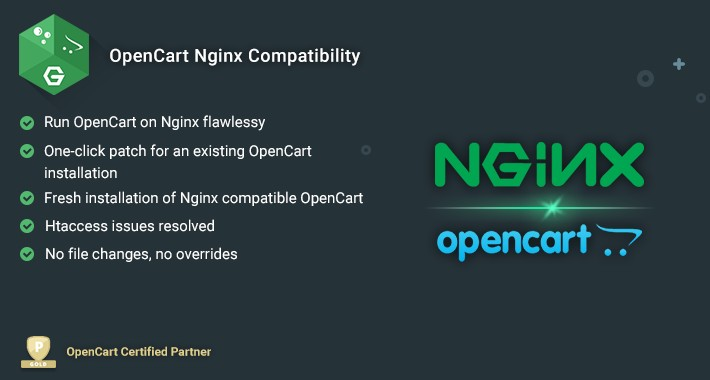OpenCart Nginx Compatibility
