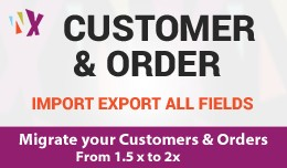 Customer & Order Import Export - 1.5x to 2x
