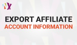 Export Affiliate Account Infromation