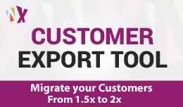 Export Customer (1.5.6x, 2x & 3.x)