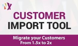 Import Customer (2x and 1.5.6x)