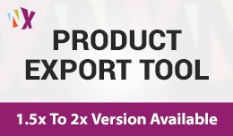 Product Export Tool (1.5x, 2x & 3x)