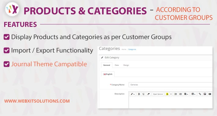 Products & Category according to Customer Groups Wise