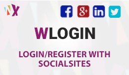 WLogin ( Login with Social sites )