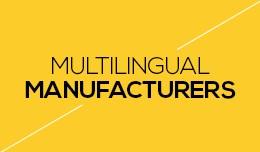 Multilingual Manufacturers