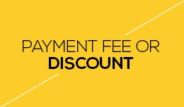Payment Fee or Discount