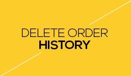 Delete Order History