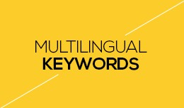 Multilingual Keywords