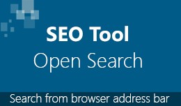 SEO Tool - Open Search