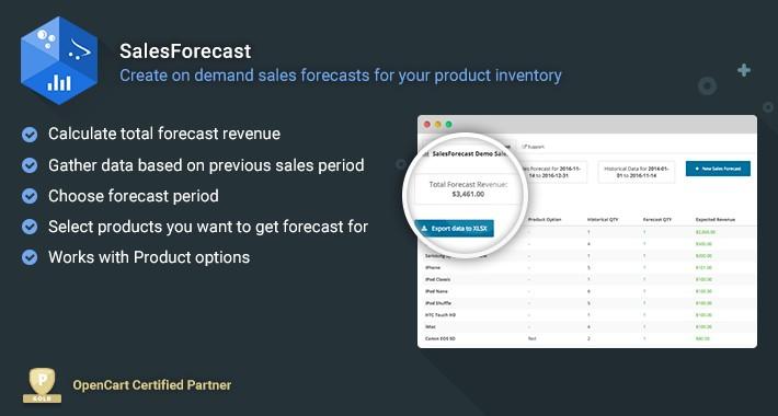 SalesForecast - On Demand Sales Inventory Forecast