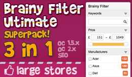 Brainy Filter Ultimate Superpack / OC2 +, OC1.5...