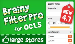 Brainy Filter Pro for OC1.5.x