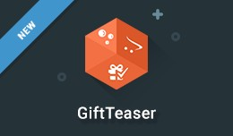 Gift Teaser - Get a free gift upon purchase