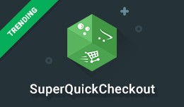 SuperQuickCheckout - 15 seconds, 2 fields checkout