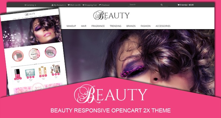 Beauty responsive opencart 2.X theme