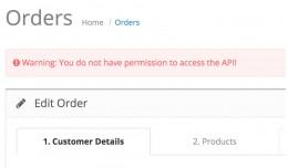 [Free] Fix permission to access the API error