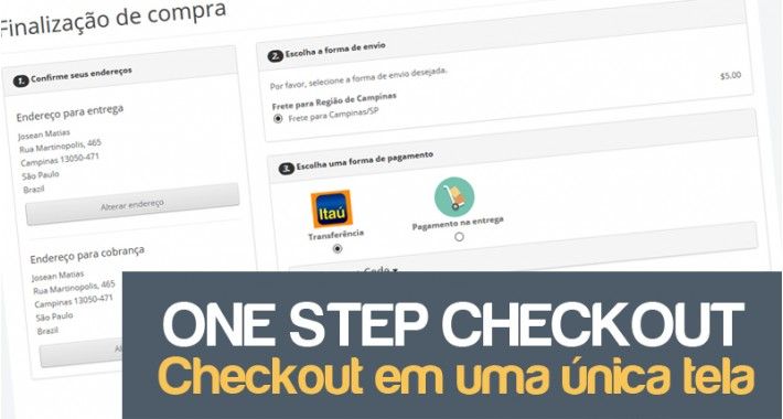 One Page Checkout - Quick Checkout