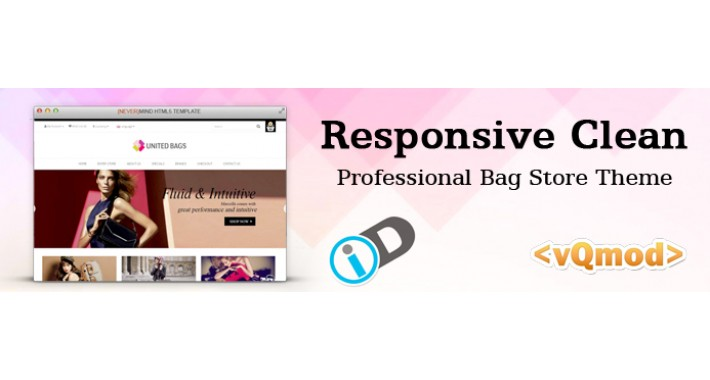 Bag store Opencart Theme