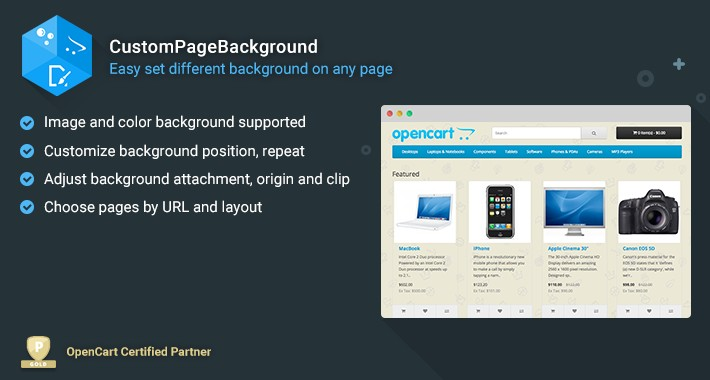 Custom Page Background - Set Custom Background for Each Page