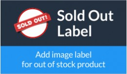 Sold Out Label
